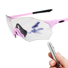 Cycling Glasses Women Running Glasses Photochromism Pink White Mtb Rode Bike Bicycle Sunglasses UV400 Windproof Sports Goggles