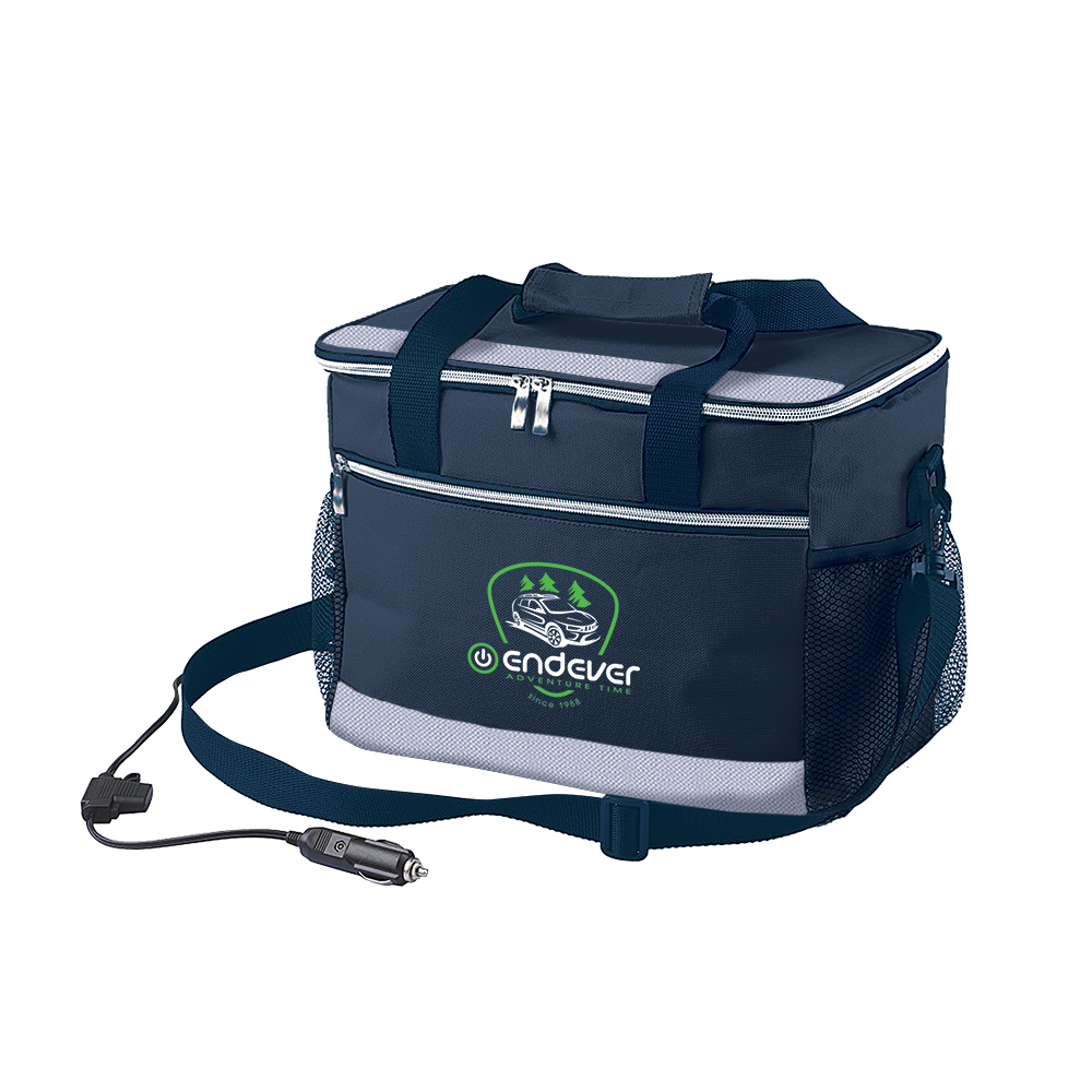 цена на Cooler bag Endever VOYAGE 005 (power 48 W, volume 14, cooling: 11 °-15 °C below ambient temperature cp