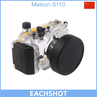 40M 130ft Waterproof Underwater Camera Housing Case Bag for Canon Powershot S110 as WP DC47
