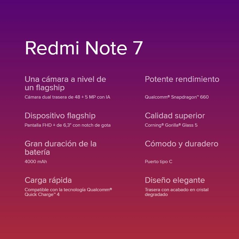 [Version globale] Xiaomi Redmi Note 7 Smartphone HD+ 6,3