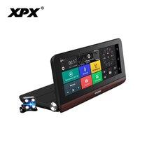 DVR XPX ZX878 Dash cam Rear View Camera Car dvr 3 in 1 Radar GPS Full HD 1080P Dashcam detector camera