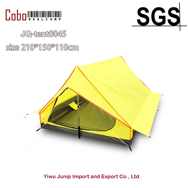 Survivalist Ultralight 2 person Tent for Backpacking Camping Hiking Waterproof A <font><b>frame</b></font> Lightweight 2 Men Tent-Alpenstock Exclude image