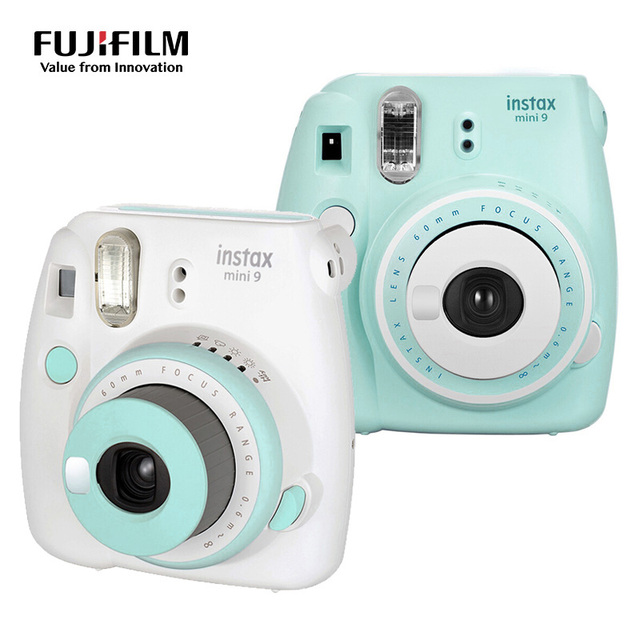 Fuji Fujifilm Instax Mini 9 Camera Patchwork Color Instant Photo Film Printing Camera Compact Snapshot Shooting Photos Camera
