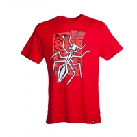MOTO GP 93 MARQUEZ Motorcycle Spider MARC T Shirts RED Tops Jerseys Short Sleeved O Neck
