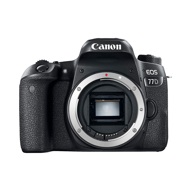 DSLR Camera Canon EOS 77D Body black