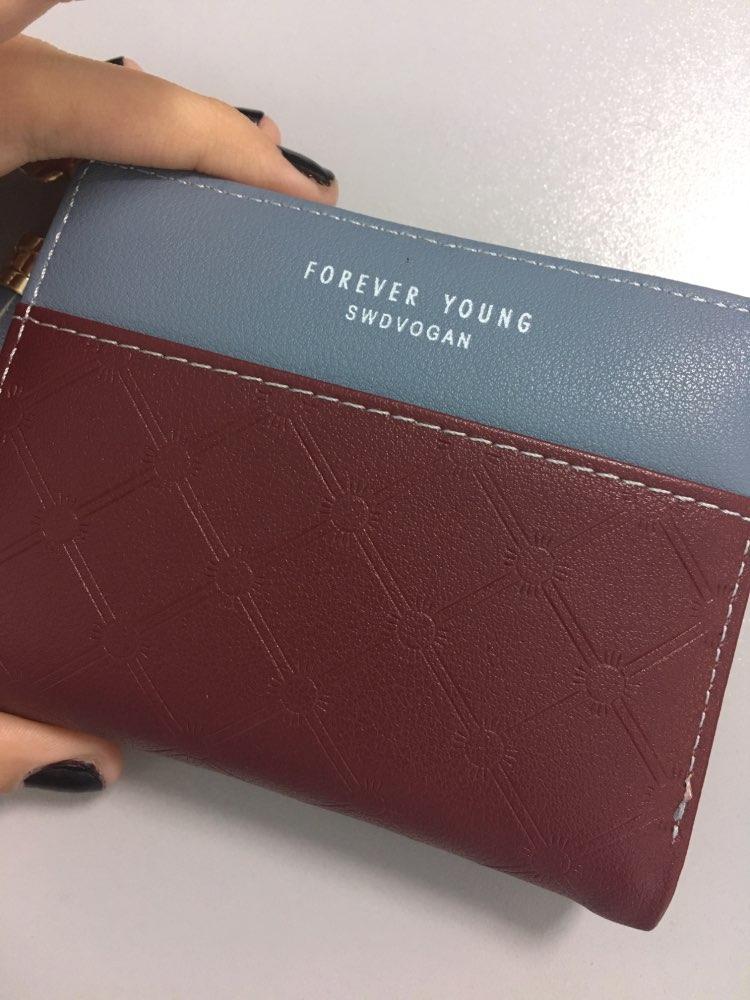 Сач; небольшой бумажник женщин; Основной материал:: ПУ; небольшой бумажник женщин;