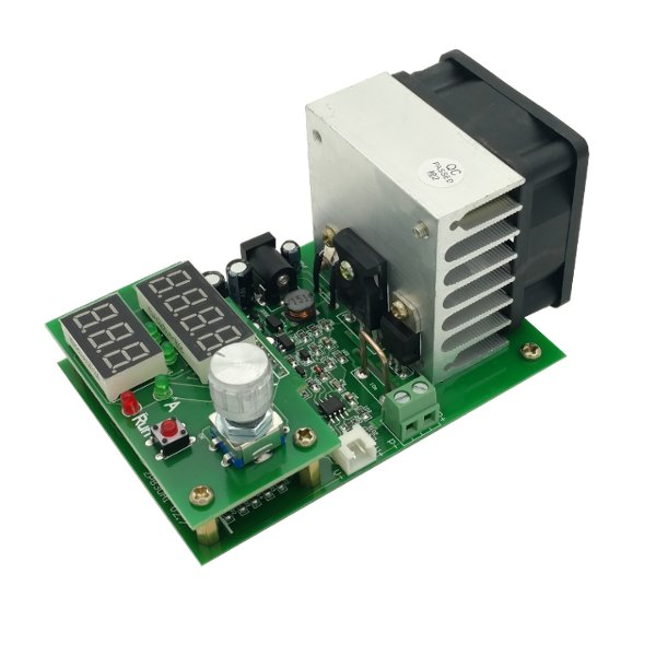 1PC New Arrival Multifunction 60W 9.99A 30V Constant Current Electronic Load Aging Battery Power Capacity Tester Module