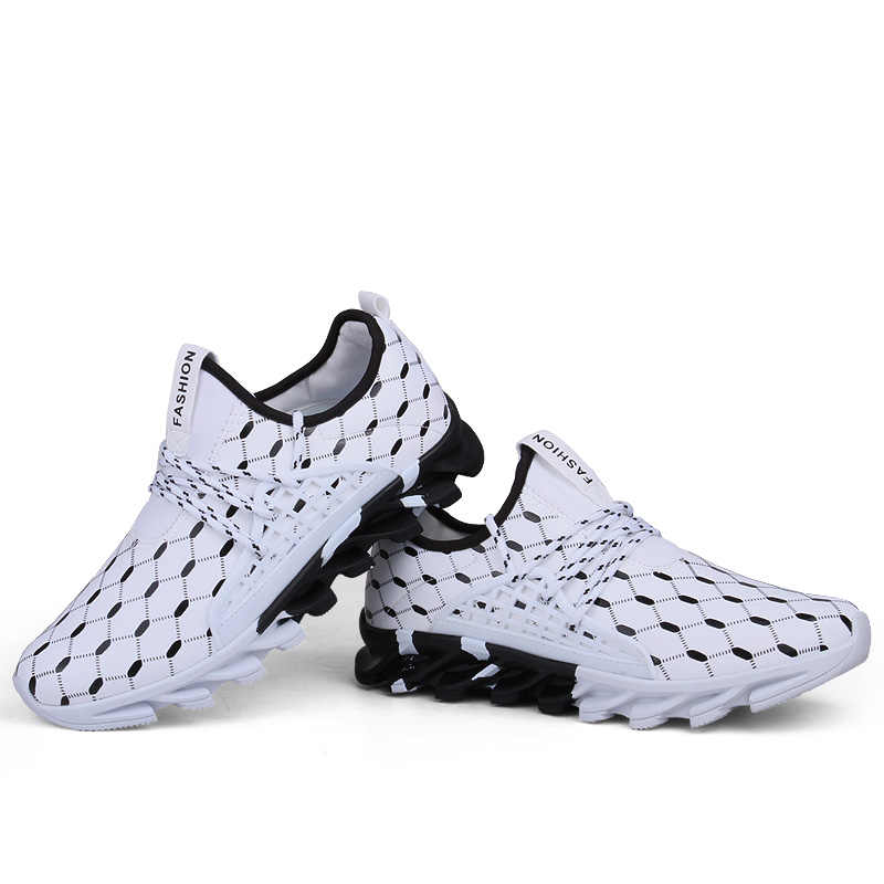 IMAXANNA رجل أبيض أحذية رياضية النساء احذية الجري في الهواء الطلق أحذية الرجال رياضية الدانتيل متابعة المرأة أحذية رياضية تنفس الرجال أحذية رياضية