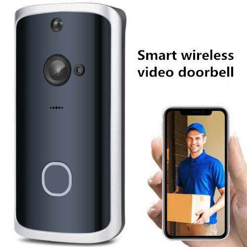 M13 Wireless Video Doorbell Smart Video Wireless WiFi Door Bell IR Visual Camera Record Security System Doorbell 3B03