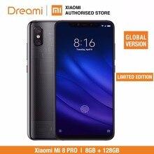 Global Version Xiao Mi Mi 8 Pro 128GB ROM 8GB RAM โปร่งใสไทเทเนียม (ยี่ห้อใหม่)