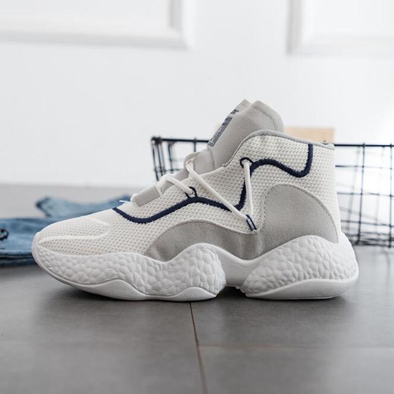 slip En De Chaussures Non Printemps Plat gris Marche Noir Femmes Lumière Confort blanc Sh298 Maille Plein Course Sneakers Air Automne Respirante xqwwXfd