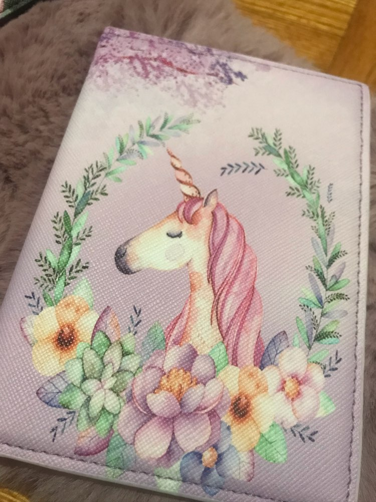 16 Different New Style Unicorn Passport Cover PU Leather Unisex Credit Card Holder Fashion Animal Prints Passport holder Unicorn photo review