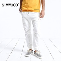 SIMWOOD New Arrive 2019 Casual Pants Men Fashion Ankle Length Trousers Plus Size High Quality Cargo Hip Hop Streetwear 180525