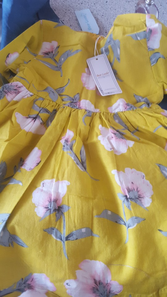 Bear Leader Girls Dresses 2019 New girls cute dress white belt denim dress sleeveless cotton summer dress lovely girls clothes