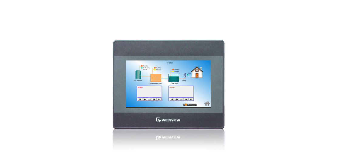 WEINVIEW MT6071iP 7 inch TFT 800 x 480 Touch Panel full Color LCD Replace MT6070IH Display