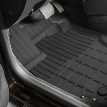 Для Nissan Terrano 2WD 2016-2019 резиновые коврики в салон (передний привод) 5 шт./компл. Rival 64701002