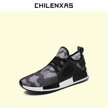 CHILENXAS 2017 New Fashion Men font b Casual b font font b Shoes b font Lace