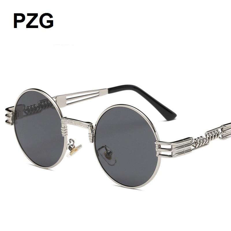 PZG mewah merek Punk Kacamata 2018 baru pria womens kacamata Paduan - Aksesori pakaian - Foto 3