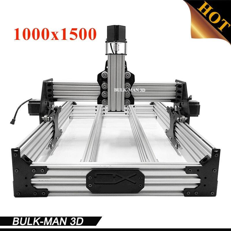 OX CNC Router Machine OX CNC Mechanical Kit with 4pcs Nema 23 stepper motor 1000*1500mm