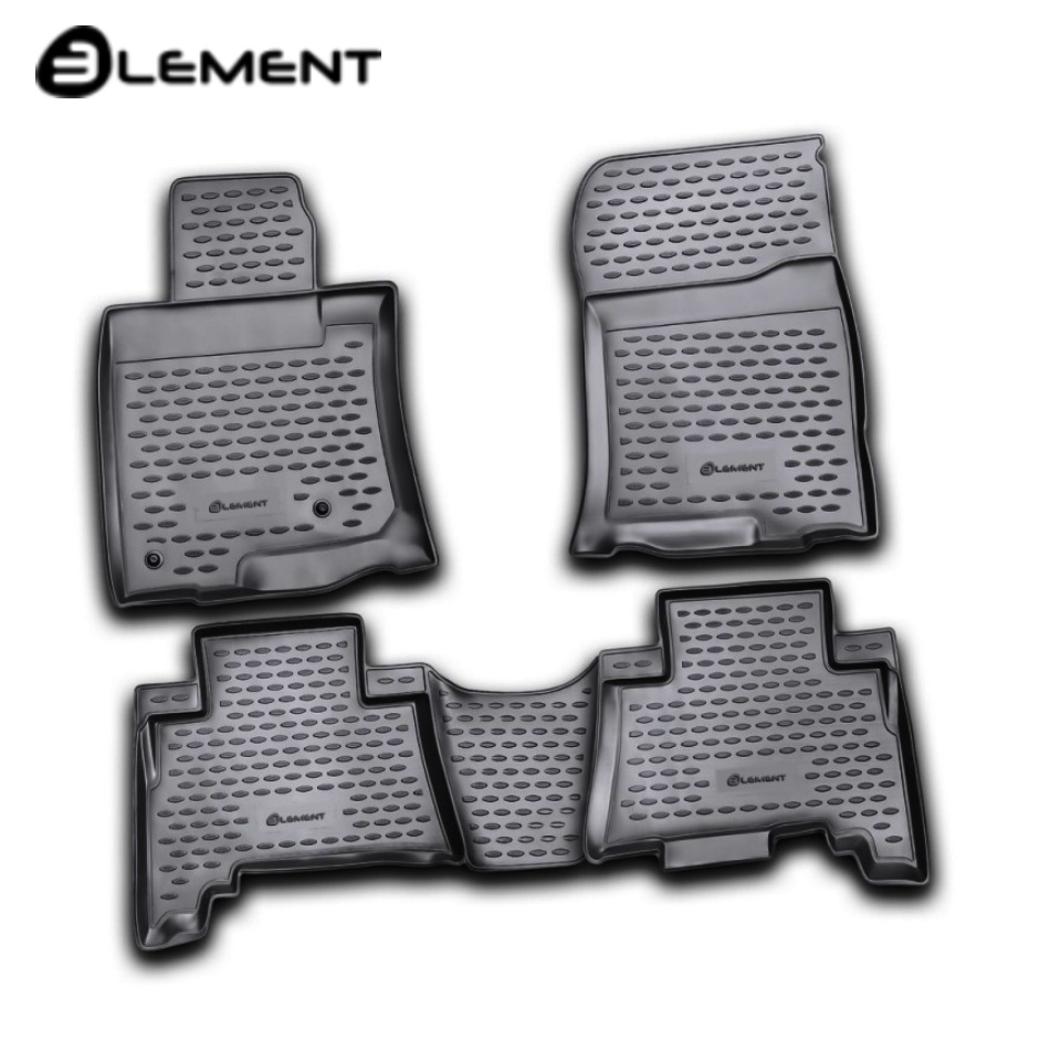 For Toyota Land Cruiser 150 Prado 2009-2013 floor mats into saloon 4 pcs/set Element NLC4828210K цена и фото