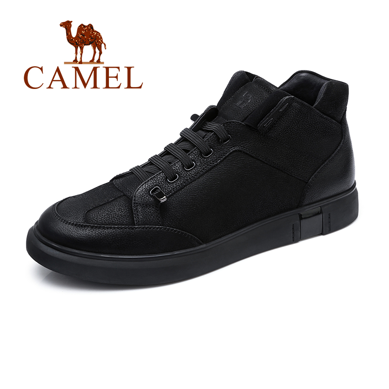 Autumn New England Men Boots Retro Tooling Boots Black Genuine Leather Casual Boots Tide Shoes Men Cow Leather Man Boot