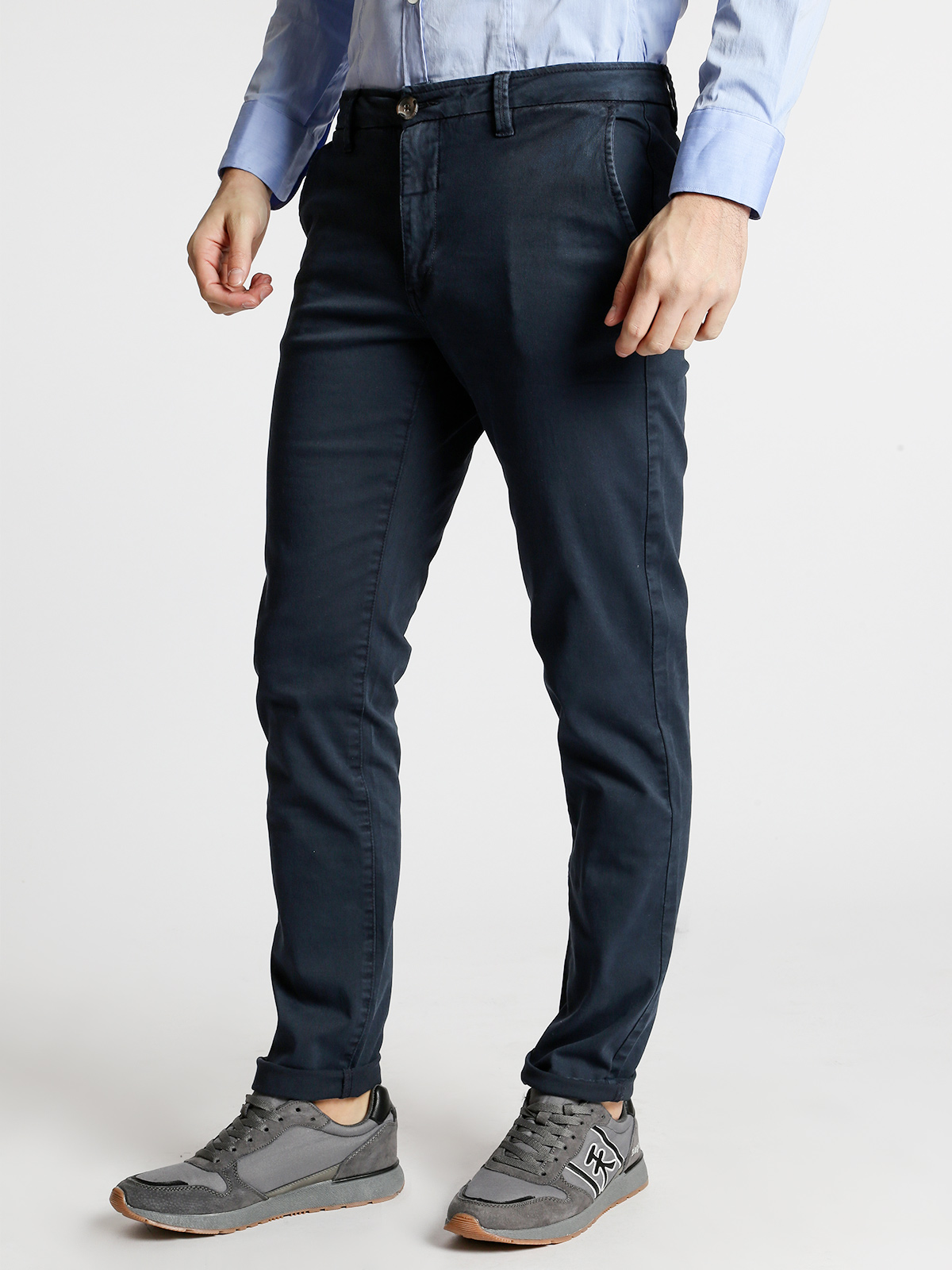 Chino Pants Cotton Slim Fit