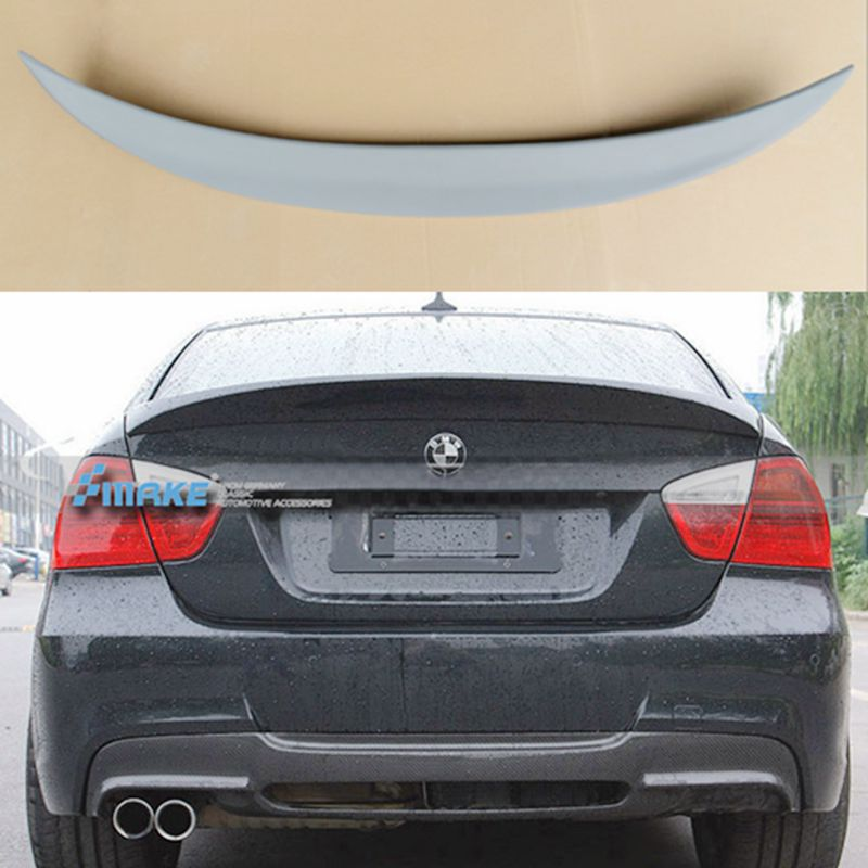 For BMW E90 Spoiler ABS Spoiler For BMW E90 M3 320i 320li 325li 328i with color Spoilers For E90 2005-2012 топ top secret топ