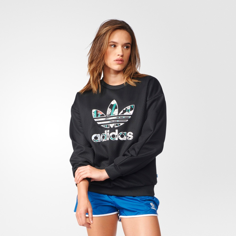 Female Sweatshirt Adidas AY7963 sports and entertainment for women sport clothes