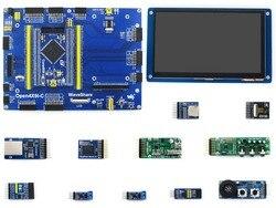 ARM STM32 مجلس اللحاء M4 Open429I-C 7 بوصة بالسعة شاشة عرض باللمس إيثرنت وحدة كاميرا مايكرو SD وحدة Open429I-C حزمة B