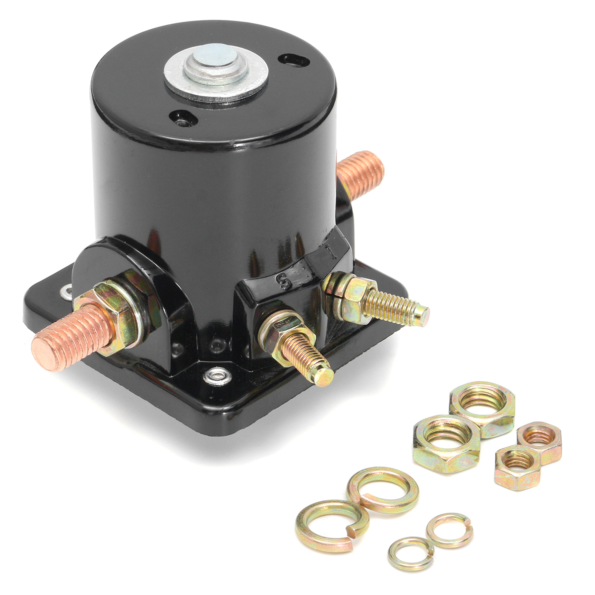 12v starter solenoid relay contactor switch for johnson. Black Bedroom Furniture Sets. Home Design Ideas
