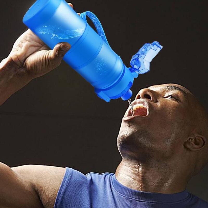 ZORRI Lightweight Bottle for Water BPA free Tritan Flask 500ml 1000ml CE ZORRI Lightweight Bottle for Water BPA-free Tritan Flask бутылка для воды 500ml/1000ml CE / EU Drinkware shaker botella de agua