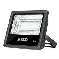 50 watt LED Flood Light  50W Floodlight IP65 Waterproof 260V LED Spotlight Refletor LED Outdoor Lighting Gargen Lamp newest|Floodlights| |  -