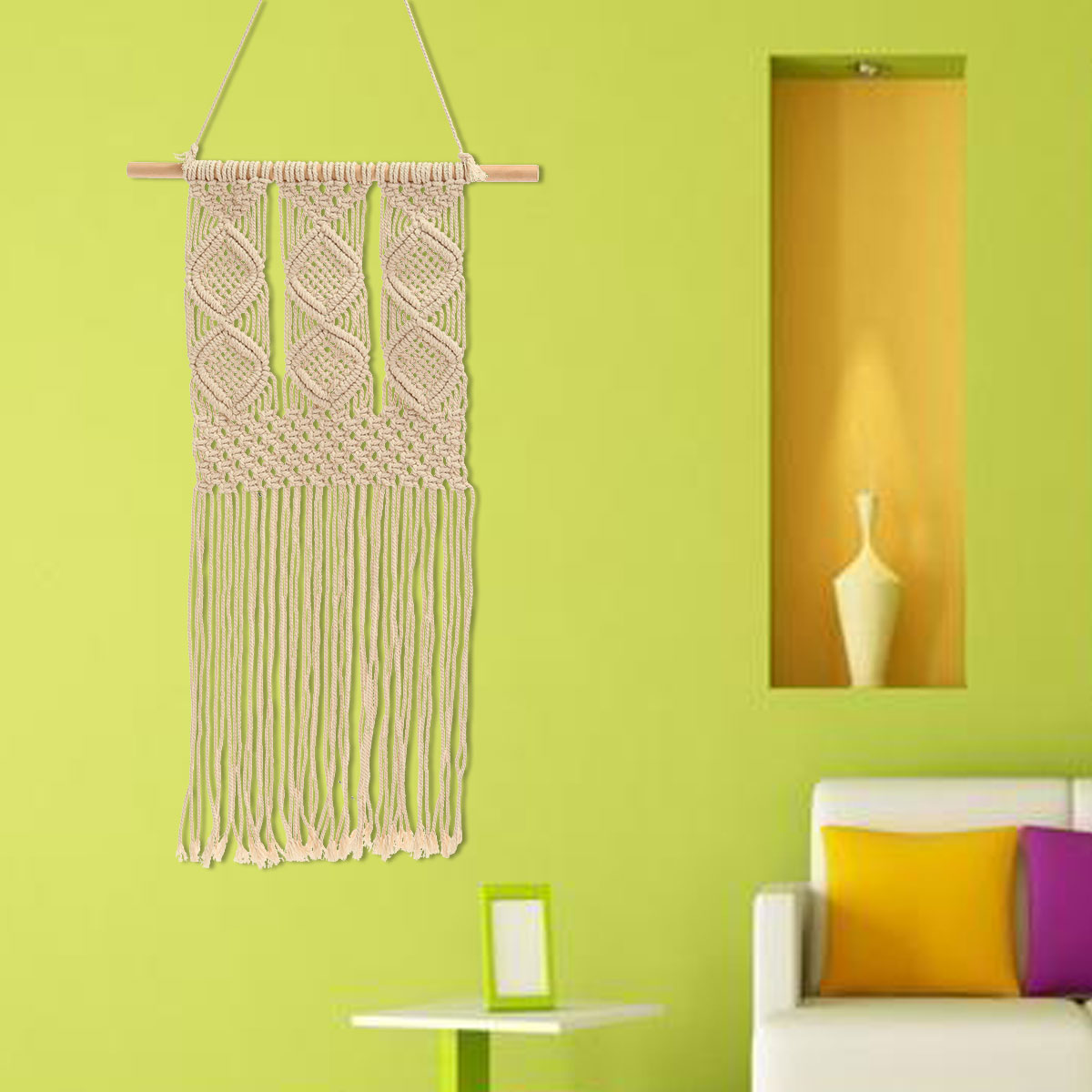 Nice Knitted Wall Decorations Festooning - Wall Art Collections ...
