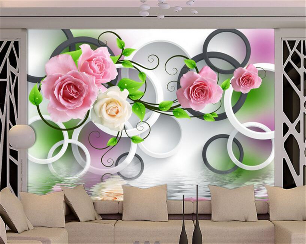 Beautiful Wallpaper High Quality Wall - beibehang-3d-wallpaper-High-quality-simple-wall-paper-reflection-water-rose-tree-background-wallpaper-papel-de  Perfect Image Reference_356698.jpg