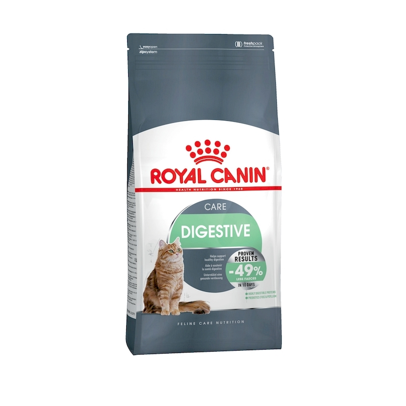 Cat Food Royal Canin Digestive Care, 2 kg royal canin veterinary diet renal rf 23