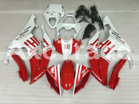 Motorcycle Fairings Kits For Yamaha YZF600 YZF 600 R6 YZF-R6 2008-2014 08 - 14 ABS Injection Fairing Bodywork Kit Red White