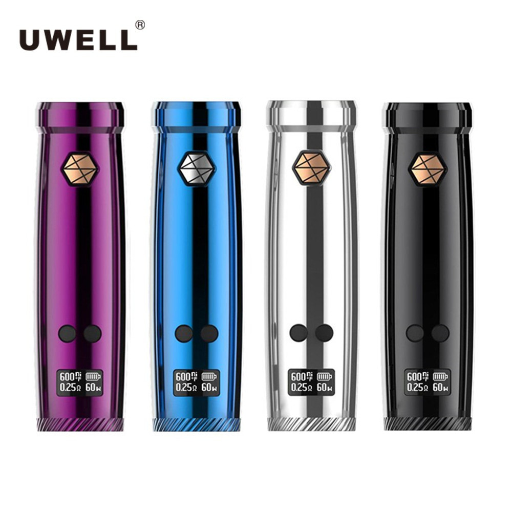 Original Uwell Nunchaku 80W TC Vape Mod anti-overheating for Nunchaku Atomizer electronic cigarette without 18650 battery E Cig цены