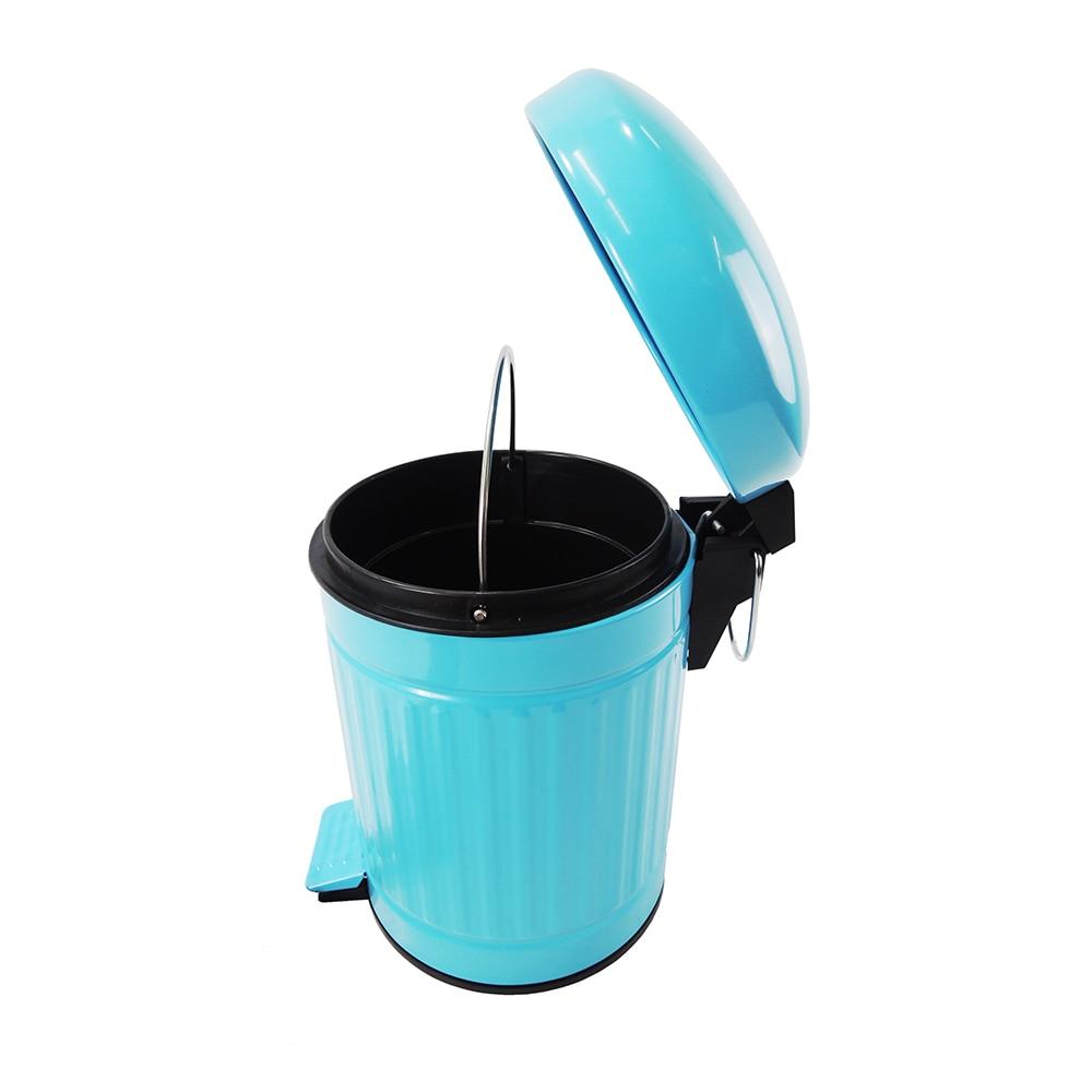 3L Retro Trash Can Kitchen Washroom Household Rubbish Bin Samll ...