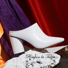 BHS 9011106 Fashion Women Shoes Party Wedding Genuine Leather Stylish Ankle Boots Sheepskin 8.5CM High Heels Stilettos