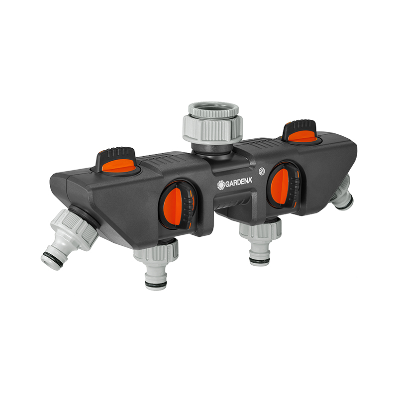 Garden Water Connector GARDENA 8194-20 4-channel 1-3/4 waterproof connector sp13 type 2 3 4 5 6 7pin ip68 cable connector plug and socket