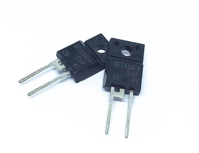 100% nouveau original importé 8ETX06FPPBF 8ETX06FP TO220FP diode Schottky 600 V 8A