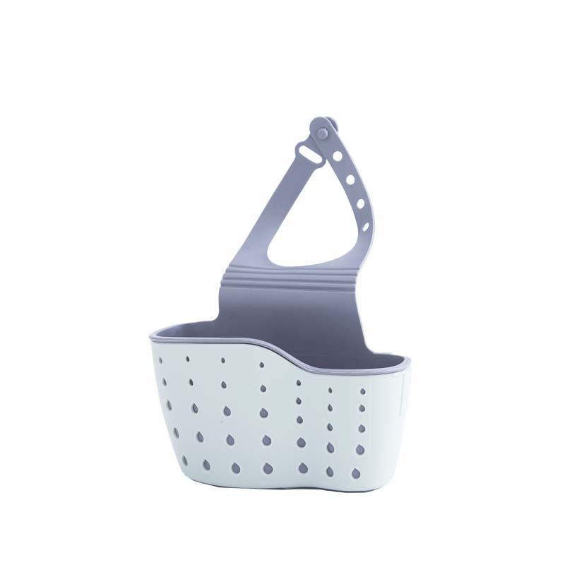Kitchen Utensils Double Sink Bag Hanging Rack Sponge Storage Supplies Hanging Basket Drain Rack