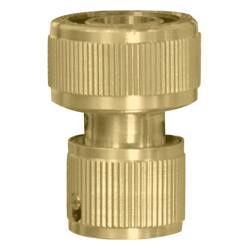 Connector brass quick-release with hitchhiking KRATON, 1/2  air tube 2 way 6mm dia quick joiner push in connector pneumatic fitting 10pcs