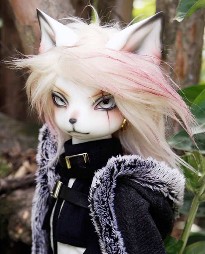 HeHeBJD Oskar Creature Claw  1/4 resin bjd body model reborn free shipping
