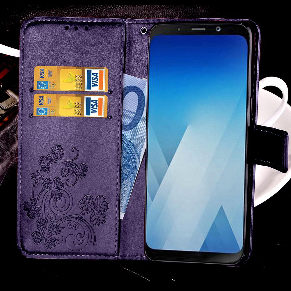 Luxury Leather Flip Cover Phone Case For Samsung S8 S9 Plus A7 A5 A3 J3 J5 J7 Prime S7 S6 Edge S5 S4 S3 Card Hold Retro