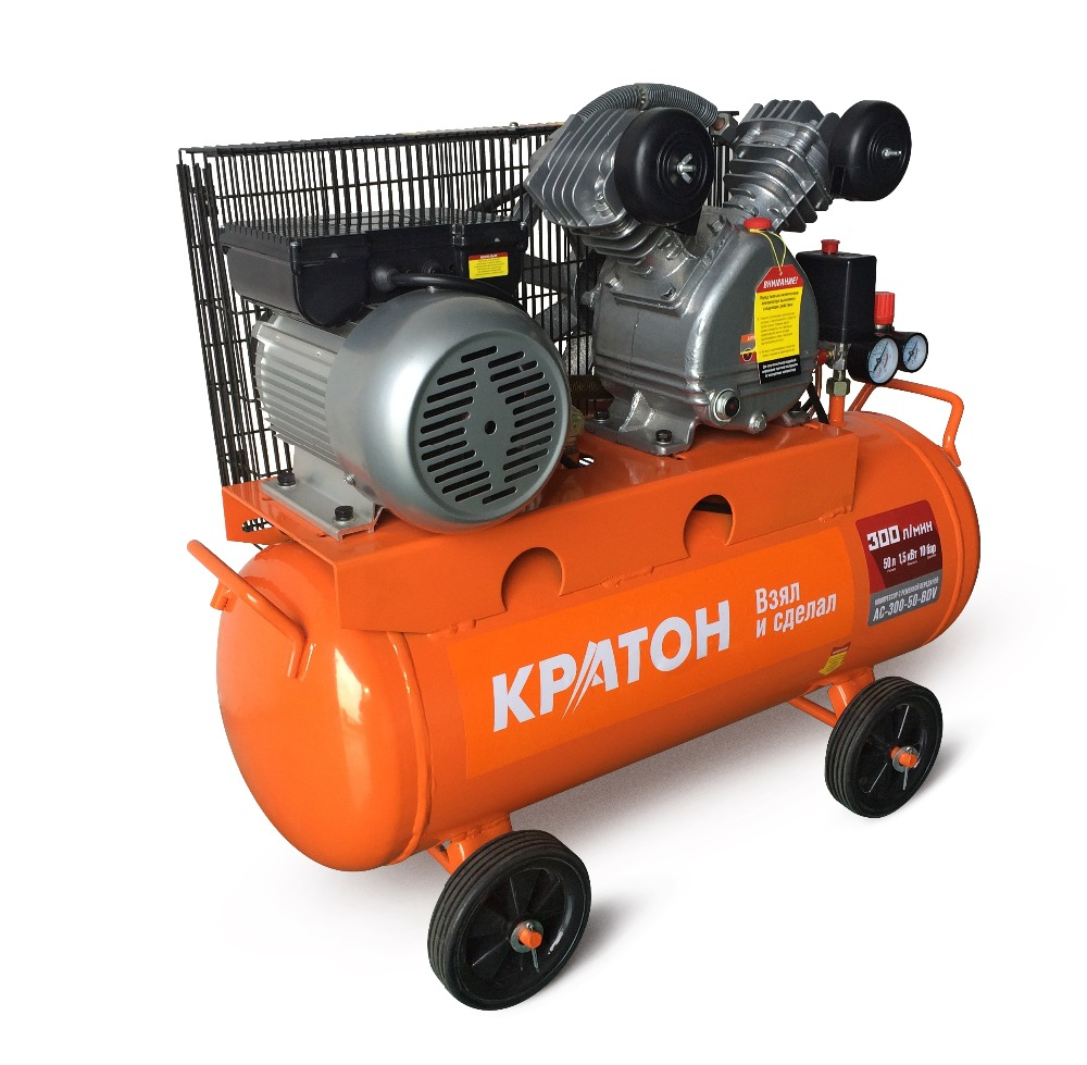 Compressor KRATON with belt transmission AC-300-50-BDV compressor kraton with direct transmission ac 180 24 dd