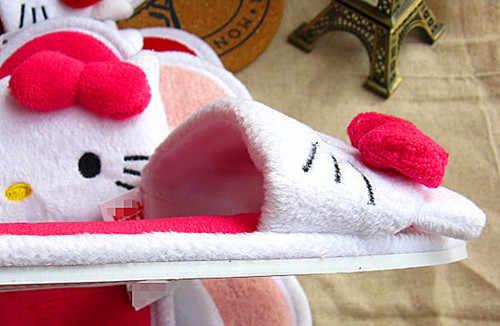 New Ciao kitty Donne sottile luce a casa pantofole a casa Peluche scarpe KX-L2120
