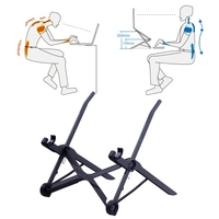 Portable Folding Laptop Stand Adjustable Laptop Notebook Foldable Gaming Laptop Holder Stand Bed New Laptop Notebook