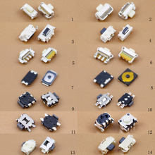 28pcs For domestic mobile phone power button lock button power switch side of the smartphone button button