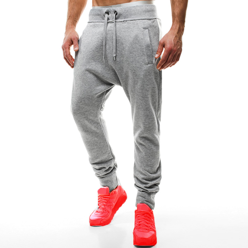 INCERUN Men Solid Sweatpants 2018 Fashion Sweats Track Pants For Male High Quality Hip Hop Harem Trousers Loose Baggy S-2XL